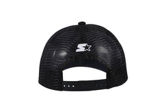 CHICAGO-FOAM FRONT MESH TRUCKER - BLACK/WHITE