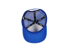 CHICAGO-FOAM FRONT MESH TRUCKER - BLUE/WHITE