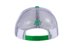 DENVER-FOAM FRONT MESH TRUCKER - GREEN/WHITE