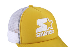 DENVER-FOAM FRONT MESH TRUCKER - YELLOW/WHITE