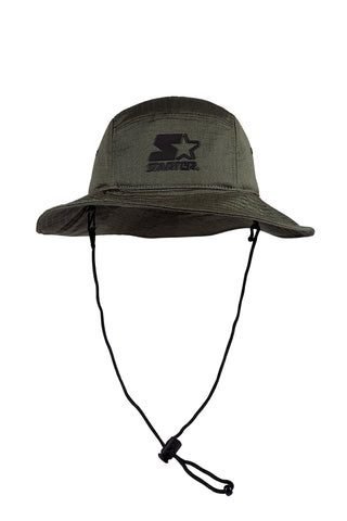 FLASH MULTI PANEL BUCKET HAT - KHAKI/REFLECTIVE