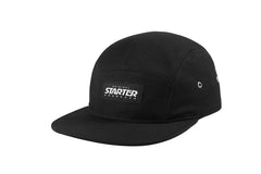 NEW ORLEANS-5 PANEL CAP IN RIPSTOP - BLACK/WHITE