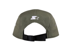 NEW ORLEANS-5 PANEL CAP IN RIPSTOP - KHAKI/WHITE