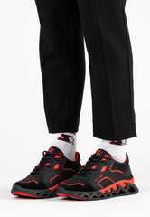 PIVOT RUNNER - BLACK/RED (pre-order)