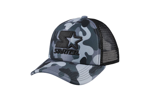 SAN FRANCISCO-FOAM FRONT MESH TRUCKER - GREY/BLACK