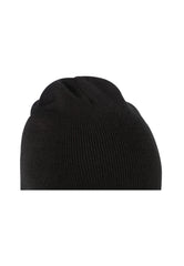 MINNESOTA KNITTED BEANIE HAT - BLACK/BLACK