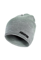 MINNESOTA KNITTED BEANIE HAT - GREY MARL/BLACK
