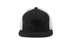 VEGAS-MESH TRUCKER - BLACK/WHITE