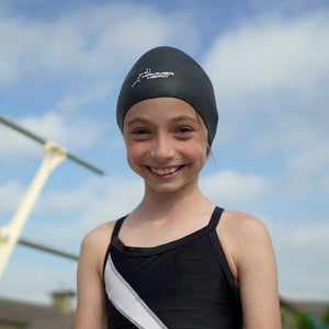 Hammer Head® Swim Cap w/Abbie Fish Logo