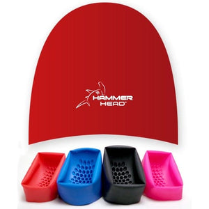 Red Hammer Head® Swim Cap