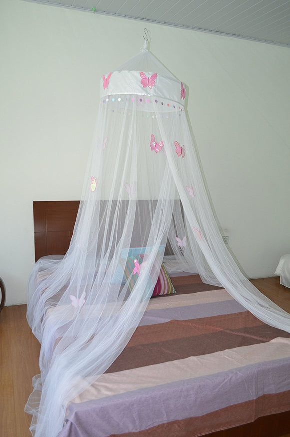 Octorose  ® Butterfly Bed Canopy Mosquito NET Crib Twin Full Queen King