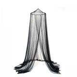 OctoRose Round Hoop Bed Canopy Mosquito Net in Large Size Elegant Curtains Screen Netting fit All Size Bed