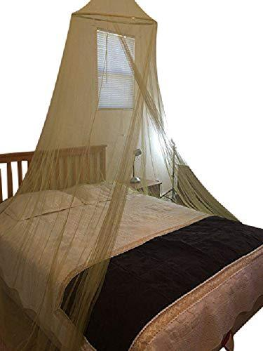 OctoRose Round Hoop Bed Canopy Mosquito Net Fit Crib, Twin, Full, Queen, King (sagegreen)
