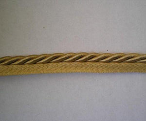 8 Yard Long 8mm Gold Cord / Lip Rope / Trim Lace