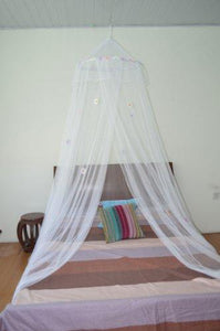 OctoRose  Daisies Bed Canopy Mosquito Net Bed, Dressing Room, Out Door Events (white)