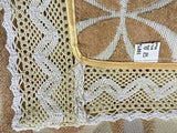 OctoRose  Chenille Lace Sectional Sofa Throw Pads Furniture Protector Sold by Piece Rather Than Set (Gold, 35x47)