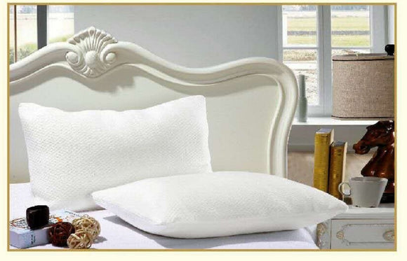 OctoRose  Bamboo Fiber Zippered Pillowcase Pillow Cover Ivory White