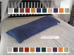 OctoRose  ® Bonded Micro Suede Body Pillow Case / Cover multiple colors COVER ONLY NO FILLING IN