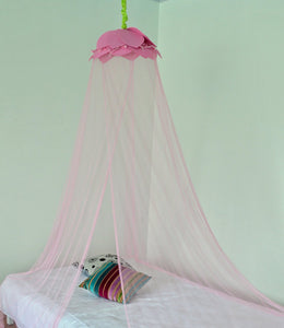 Octorose ? Lotus Leaf Top Bed Canopy Mosquito Net for Bed, Dressing Room, Out Door Events