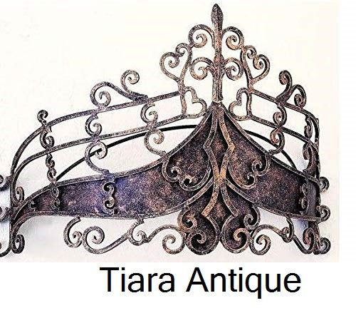 Metal Wall Teester Bed Canopy Drapery Bed Crown Hardware Sculpture