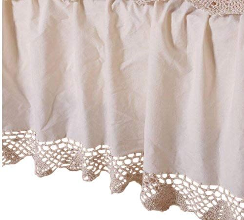 OctoRose Bed Skirt Dust Ruffle