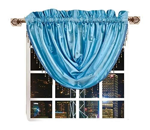 OctoRose Royalty Custom Waterfall Window Valance Swags  66x37