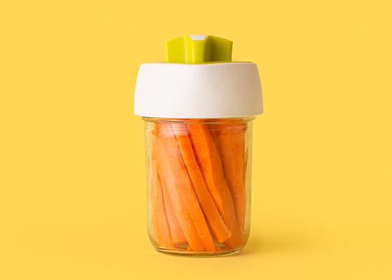 Five Spice Pickled Carrots
