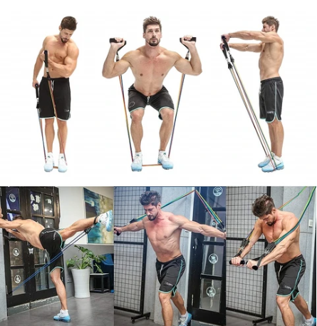 resistance band for building muscle and losing weight heavy duty