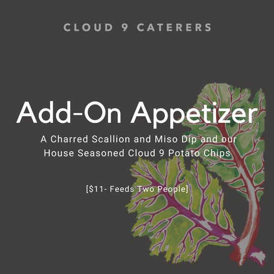 New Year's Eve Appetizer Add-On | Cloud 9 Caterers