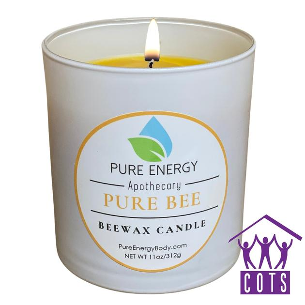 Beeswax candle | Pure Energy Apothecary
