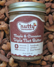 Load image into Gallery viewer, Maple & Cinnamon Triple Nut Butter | The Nutty Vermonter