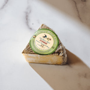 8oz Swallow Tail Tomme Cheese Wedge | Stony Pond Farm