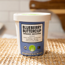 Load image into Gallery viewer, Bluberry Buttercup Organic Smoothie Kit | Eco Bean + Greens