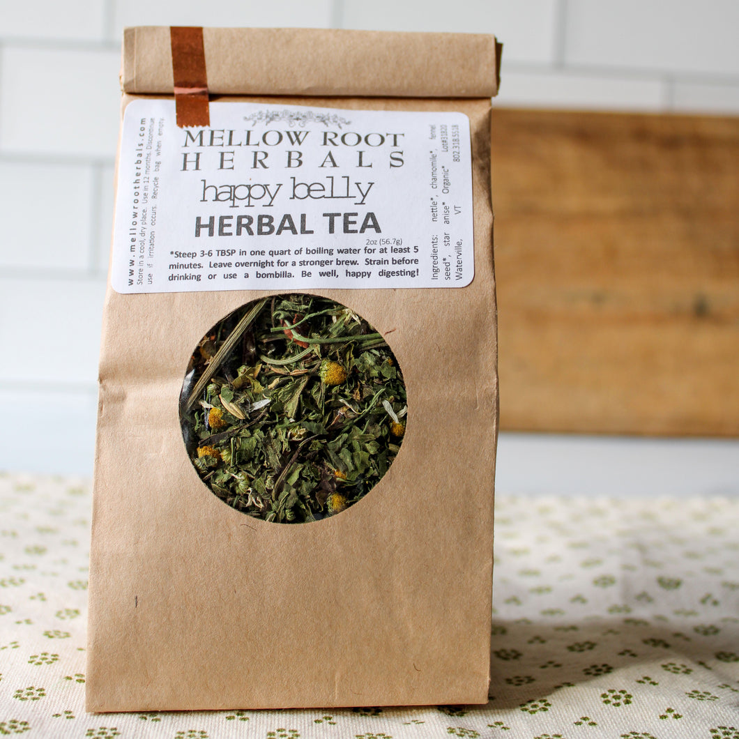 Happy Belly Herbal Tea | Mellow Root Herbals