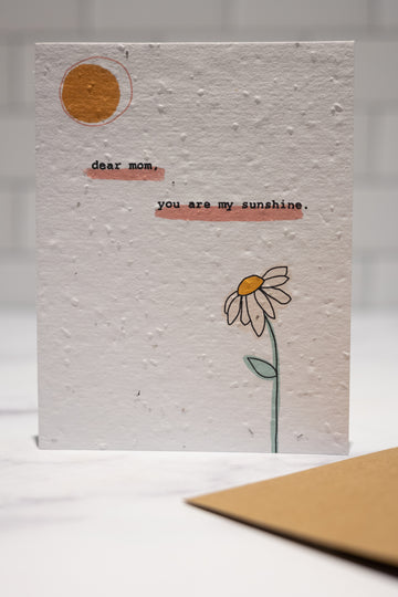 You are my Sunshine Mother's Day Card | Cards by Cato