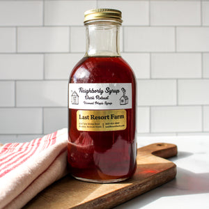 12 oz Maple Syrup | Last Resort Farm