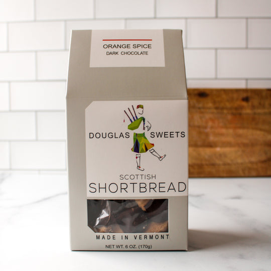 Orange Spice Shortbread & Dark Chocolate | Douglas Sweets