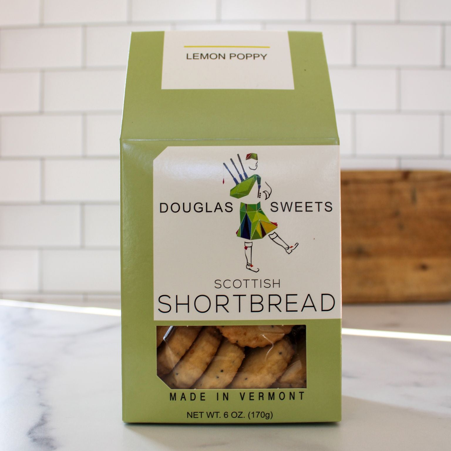 Lemon Poppy Shortbread | Douglas Sweets