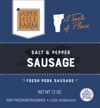 Load image into Gallery viewer, Salt & Pepper Sausage | Jasper Hill Farm