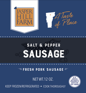 Salt & Pepper Sausage | Jasper Hill Farm