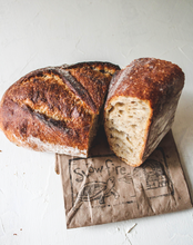Load image into Gallery viewer, Loaf of Country Sourdough Bread  | Slowfire Bakery