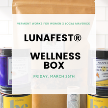 Load image into Gallery viewer, LUNAFEST Wellness Box