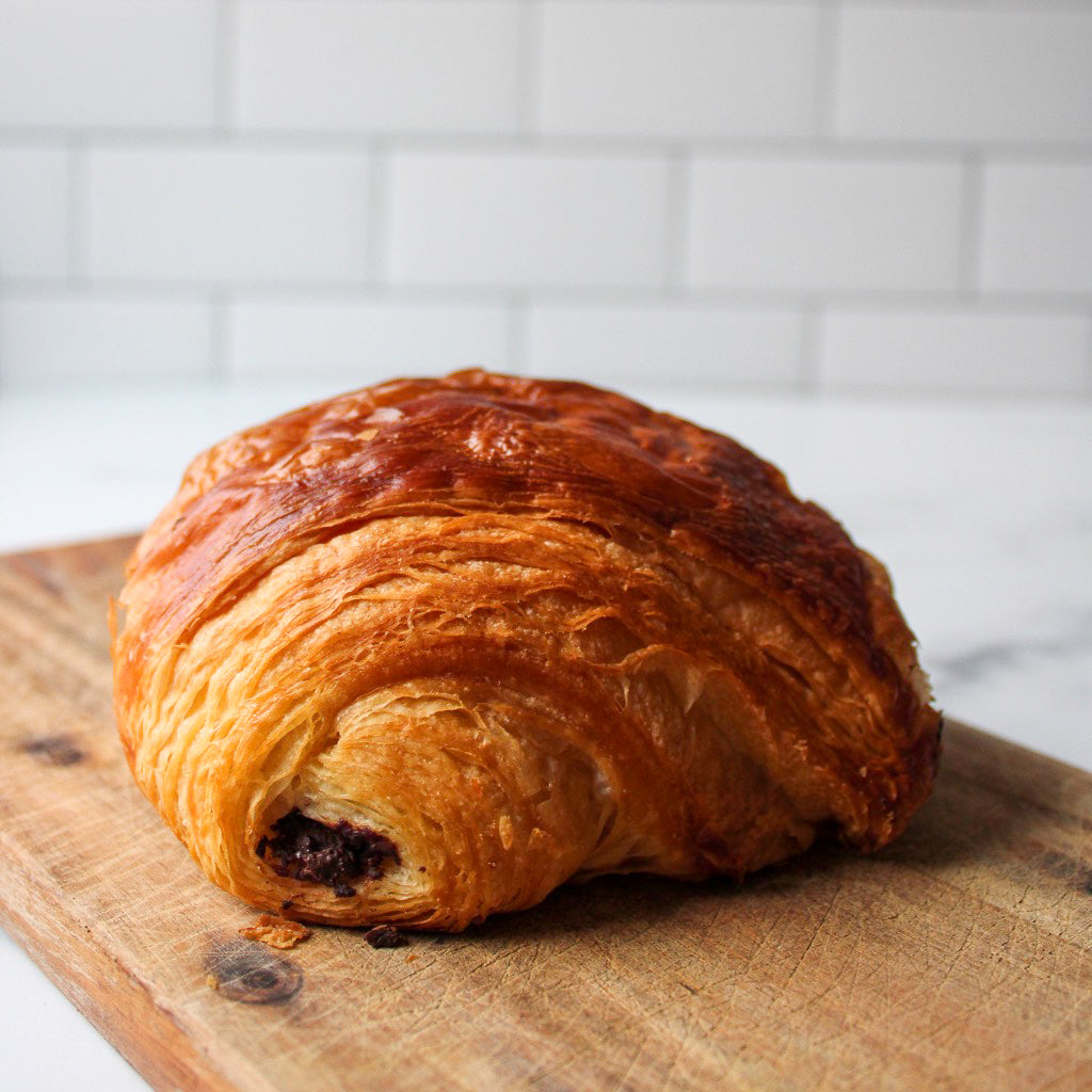 Fresh Chocolate Croissant | Slowfire Bakery