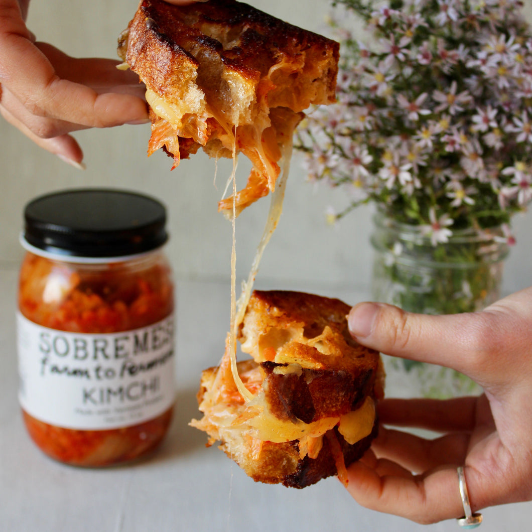 'Gourmet Kimchi Grilled Cheese Kit' | Recipe Included