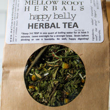 Load image into Gallery viewer, Happy Belly Herbal Tea | Mellow Root Herbals