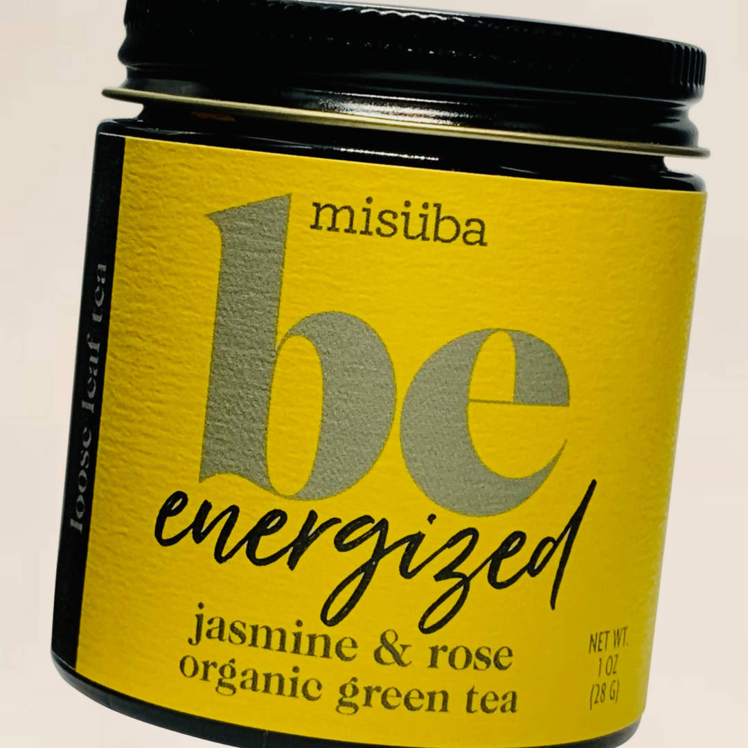 Be Energized - Jasmine & Rose Organic Green Tea