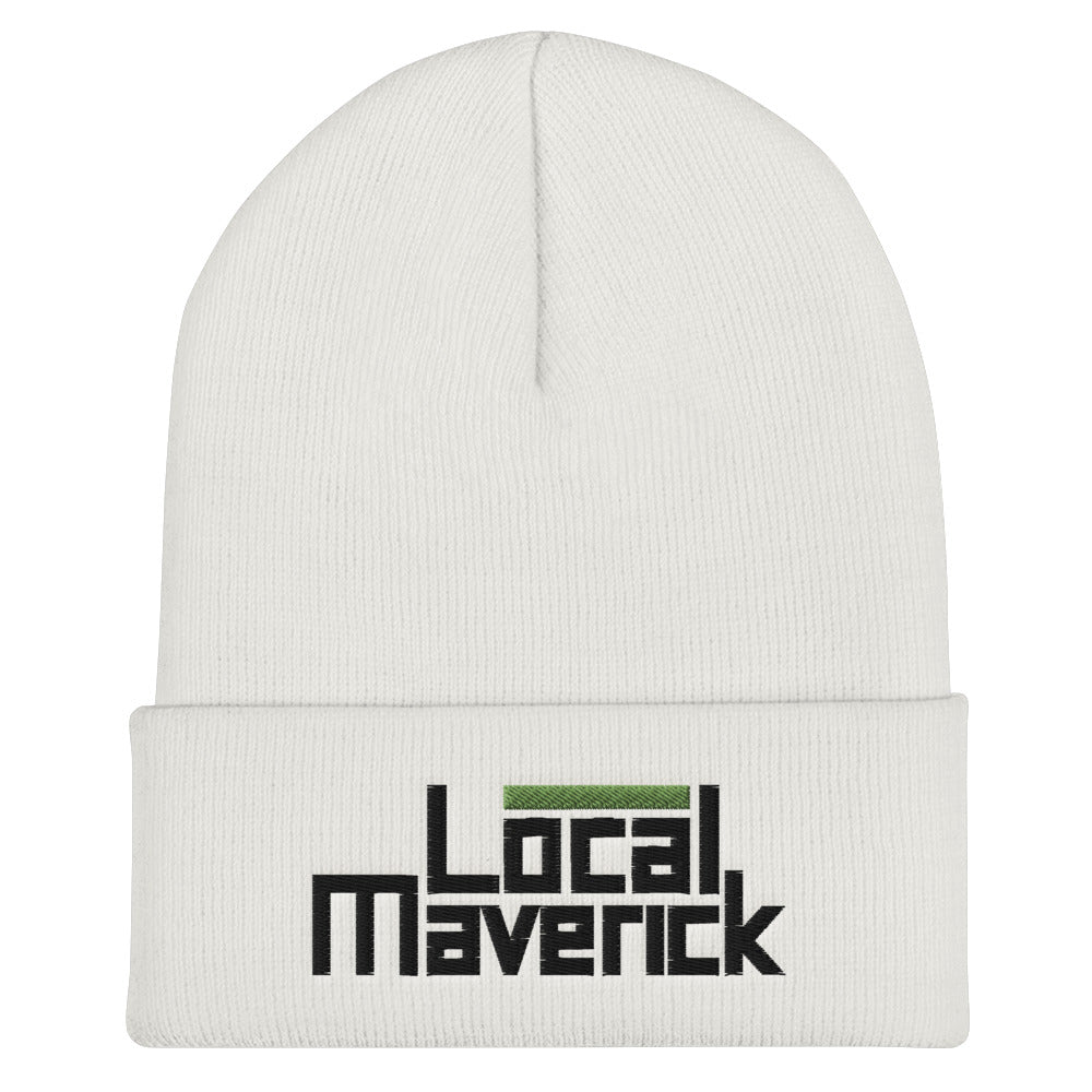 Local Maverick Cuffed Beanie