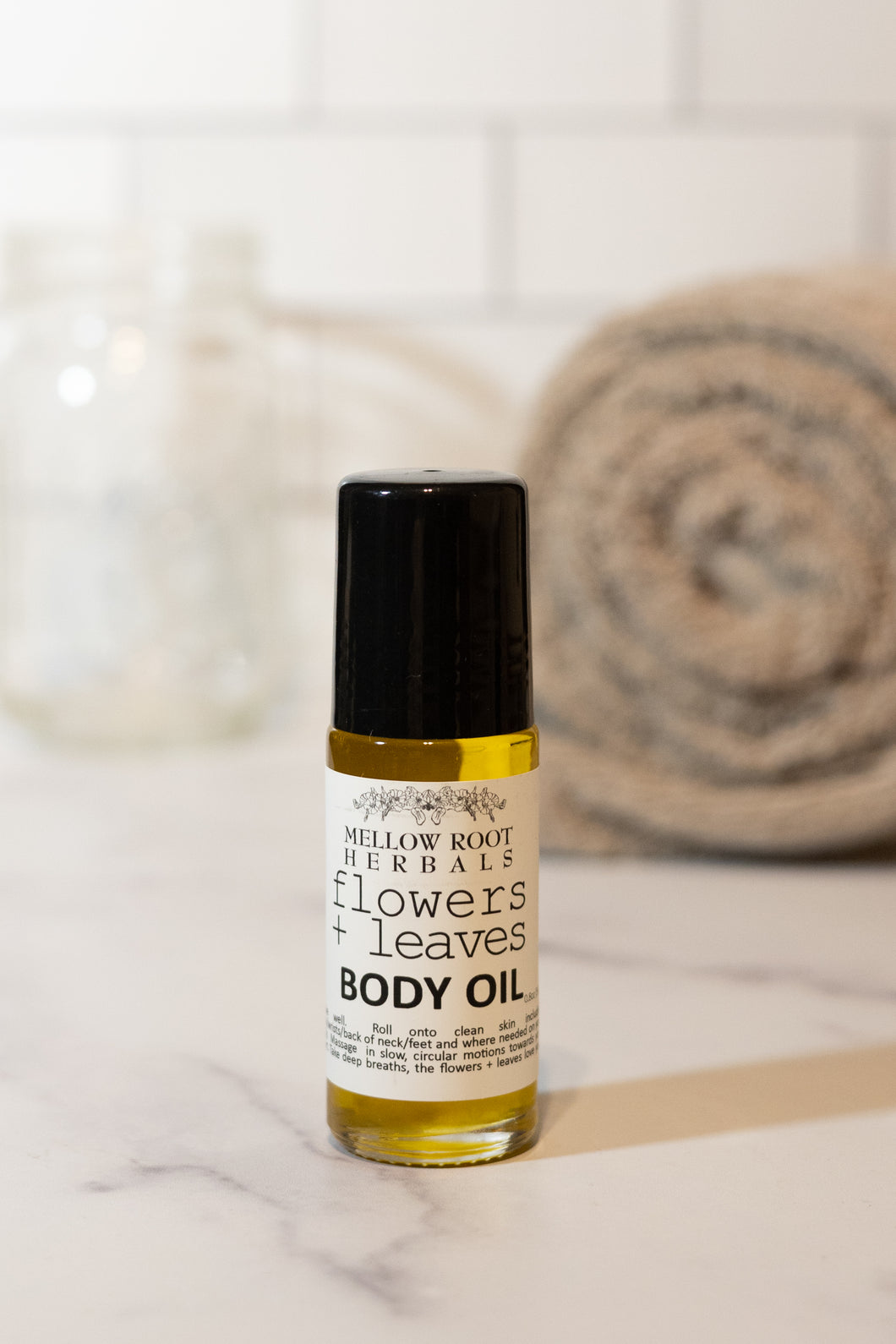 Flowers + Leaves Body Oil | Mellow Roots Herbals