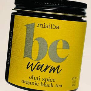 Be Warm - Chai Spice Organic Black Tea | Misuba