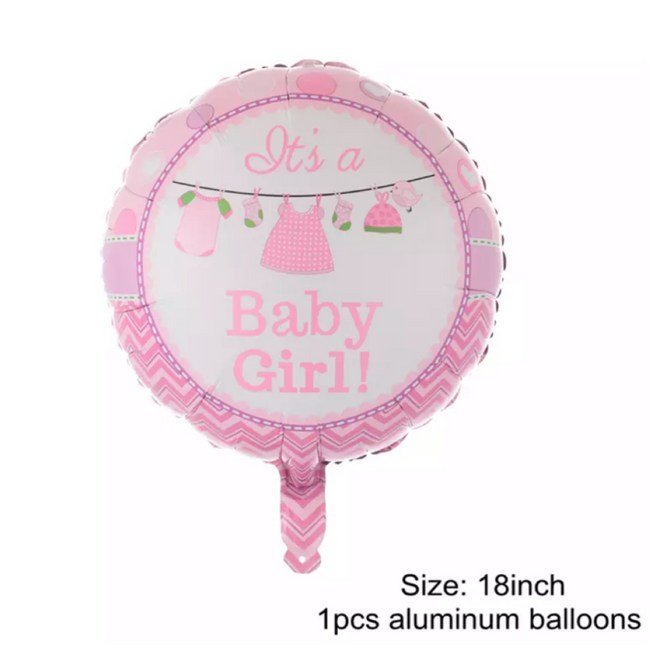 It's A Girl Helium Balloon
